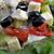 diétás · szendvics · fotó · fehér · kenyér · saláta - stock fotó © taden
