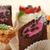 çikolata · kekler · karpuzu · üst · görmek · ahşap · masa - stok fotoğraf © taden