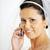 肖像 · 美しい · 花嫁 · スタイリッシュ · 電話 · スタジオ - ストックフォト © taden