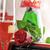 geschenk · champagne · Rood · rose · papier · bruiloft - stockfoto © taden