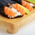 taze · sushi · lezzetli · koni · ahşap · plaka - stok fotoğraf © taden