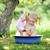 meisje · water · meisje · man · zon · kind - stockfoto © taden