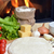 pizza · lezzetli · baharatlar · sebze · ahşap · masa · kırmızı - stok fotoğraf © taden