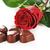 kırmızı · gül · çikolata · şeker · gül · doğa · güzellik - stok fotoğraf © taden