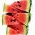 melancia · isolado · branco · verde · semente - foto stock © taden