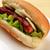 perro · caliente · mesa · de · madera · primer · plano · alimentos · viaje · libertad - foto stock © taden