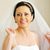 美しい · 花嫁 · スタイリッシュ · 白いドレス · ルーム · 結婚式 - ストックフォト © taden