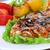 cerdo · lomo · filete · patatas - foto stock © taden