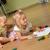nino · hermana · pequeño · jugando · casa · nina - foto stock © taden