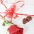 kırmızı · gül · mektup · güzel · çikolata · sevmek - stok fotoğraf © taden