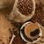 コーヒーカップ · コーヒー豆 · コーヒー · 黒 · 暗い · 朝食 - ストックフォト © taden