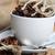 grãos · de · café · copo · café · fundo · estoque - foto stock © taden