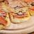 três · pequeno · comida · pizza · queijo - foto stock © taden