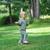 small girl having fun stock photo © taden