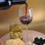 wijnfles · kaas · goud · voedsel · glas · keuken - stockfoto © taden