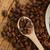 kávé · pörkölt · kerámia · kanál · csésze · hát - stock fotó © taden