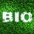bio · szó · fű · felső · kilátás · fehér - stock fotó © TaiChesco