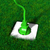 Plug · травянистый · землю · зеленый · белый · гнездо - Сток-фото © TaiChesco