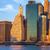 New · York · mélabús · nap · kilátás · Manhattan · belváros - stock fotó © taiga