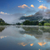 pôr · do · sol · belo · nuvens · viajar · diversão - foto stock © taiga