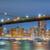 oscuro · noche · Manhattan · Nueva · York · vista · ciudad - foto stock © taiga