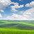 original panoramic view of fields in beautiful rolling and strip stock photo © taiga