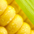 grains of ripe corn with green leaf extreme macro yellow back stock photo © taiga