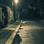 night scene after rain   lantern lights and puddle old street stock photo © taiga