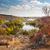 colorful trees and river   beautiful sunny autumn day panoramic stock photo © taiga
