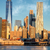 office buildings in manhattan from river new york city usa stock photo © taiga