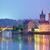 famous prague landmarks at night europe stock photo © taiga