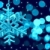 Noel · dekorasyon · kar · tanesi · ışıklar · Yıldız · mavi - stok fotoğraf © taiga