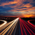 speed traffic at dramatic sundown time   light trails stock photo © taiga