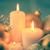 christmas · decoraties · kaarsen · Blauw · achtergrond · vak - stockfoto © taiga