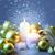 alegre · natal · ardente · velas · isolado - foto stock © taiga