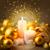 веселый · Рождества · сжигание · свечей · изолированный - Сток-фото © taiga