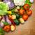 fresh organic vegetables on the wooden desk stock photo © taiga