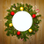 christmas decoration round frame vintage stock photo © taiga