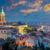 panoramik · görmek · kule · Prag · şehir · nehir - stok fotoğraf © taiga