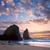 plaj · büyük · keskin · Portekiz · güneşli - stok fotoğraf © taiga