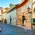 sokak · fener · Prag · gölge · sarı · duvar - stok fotoğraf © taiga