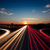 speed traffic long exposure on motorway highway at sundown stock photo © taiga