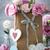 romantische · rozen · papier · harten · stilleven · roze - stockfoto © taiga