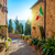 small mediterranean town   lovely tuscan stree stock photo © taiga