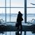 silhueta · homem · aeroporto · bagagem · arte · fundo - foto stock © taiga