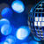beautiful disco ball on dark bokeh background stock photo © taiga