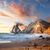 tengerpart · nagy · éles · sziklák · Portugália · napos - stock fotó © taiga