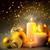 Noel · mumlar · parıltı · yatay · kart - stok fotoğraf © taiga