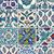 set of ancient traditional handmade tiles   islamic ornaments stock photo © taiga