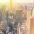 Manhattan · ufuk · çizgisi · gündoğumu · New · York · ABD - stok fotoğraf © taiga